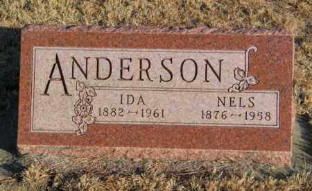 ANDERSON, IDA - Lincoln County, South Dakota | IDA ANDERSON - South Dakota Gravestone Photos