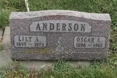 ANDERSON, LILY A - Lincoln County, South Dakota | LILY A ANDERSON - South Dakota Gravestone Photos