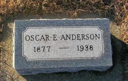 ANDERSON, OSCAR E - Lincoln County, South Dakota | OSCAR E ANDERSON - South Dakota Gravestone Photos