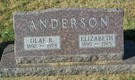 ANDERSON, OLAF B - Lincoln County, South Dakota | OLAF B ANDERSON - South Dakota Gravestone Photos