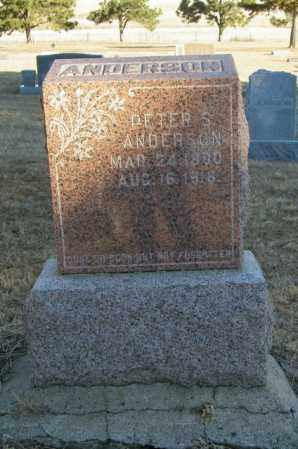 ANDERSON, PETER S - Lincoln County, South Dakota | PETER S ANDERSON - South Dakota Gravestone Photos