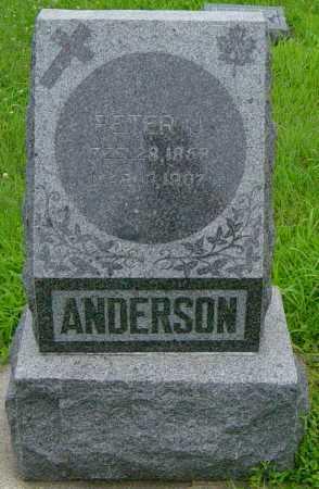 ANDERSON, PETER J - Lincoln County, South Dakota | PETER J ANDERSON - South Dakota Gravestone Photos