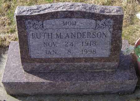 ANDERSON, RUTH M - Lincoln County, South Dakota | RUTH M ANDERSON - South Dakota Gravestone Photos