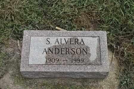 ANDERSON, S, ALVERA - Lincoln County, South Dakota | S, ALVERA ANDERSON - South Dakota Gravestone Photos