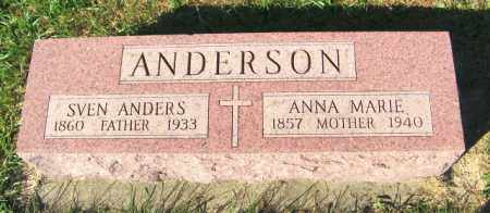 ANDERSON, ANNA MARIE - Lincoln County, South Dakota | ANNA MARIE ANDERSON - South Dakota Gravestone Photos