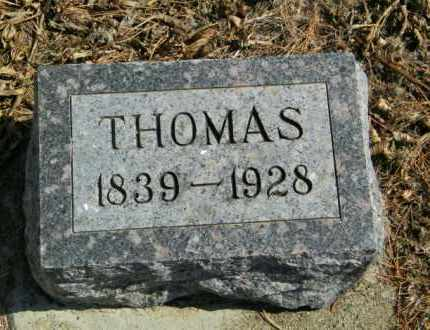 ANDERSON, THOMAS - Lincoln County, South Dakota | THOMAS ANDERSON - South Dakota Gravestone Photos