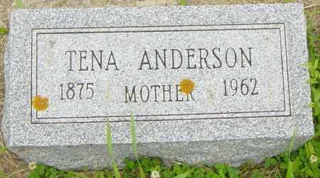 ANDERSON, TENA - Lincoln County, South Dakota | TENA ANDERSON - South Dakota Gravestone Photos