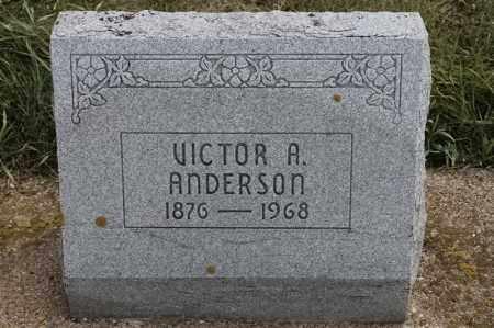 ANDERSON, VICTOR A - Lincoln County, South Dakota | VICTOR A ANDERSON - South Dakota Gravestone Photos