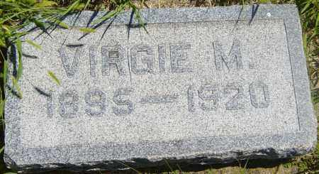 ANDERSON, VIRGIE M - Lincoln County, South Dakota | VIRGIE M ANDERSON - South Dakota Gravestone Photos