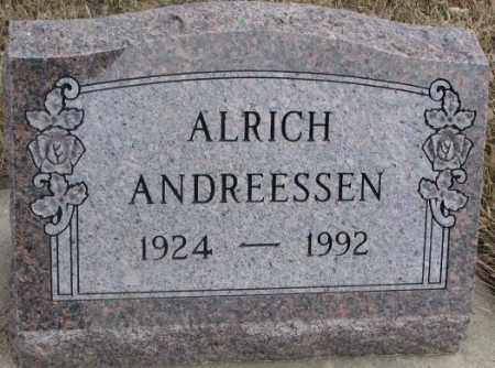 ANDREESSEN, ALRICH - Lincoln County, South Dakota | ALRICH ANDREESSEN - South Dakota Gravestone Photos