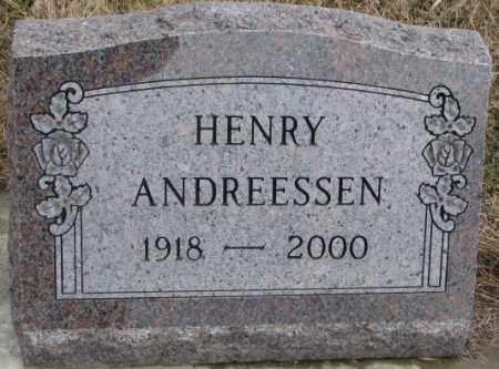 ANDREESSEN, HENRY - Lincoln County, South Dakota | HENRY ANDREESSEN - South Dakota Gravestone Photos