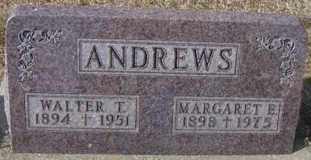 ANDREWS, MARGARET E - Lincoln County, South Dakota | MARGARET E ANDREWS - South Dakota Gravestone Photos