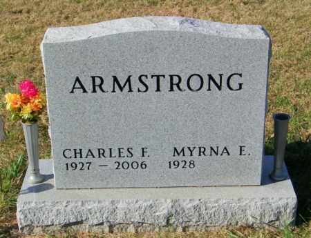 ARMSTRONG, MYRNA E - Lincoln County, South Dakota | MYRNA E ARMSTRONG - South Dakota Gravestone Photos