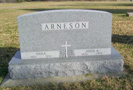 ARNESON, ANNA - Lincoln County, South Dakota   ANNA ARNESON - South Dakota Gravestone Photos