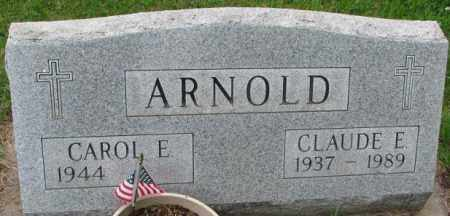 ARNOLD, CAROL E. - Lincoln County, South Dakota | CAROL E. ARNOLD - South Dakota Gravestone Photos