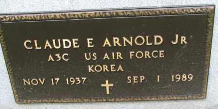 ARNOLD, CLAUDE E. JR. (MILITARY) - Lincoln County, South Dakota | CLAUDE E. JR. (MILITARY) ARNOLD - South Dakota Gravestone Photos