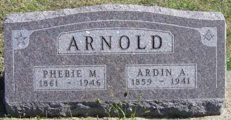 ARNOLD, PHEBIE M - Lincoln County, South Dakota | PHEBIE M ARNOLD - South Dakota Gravestone Photos