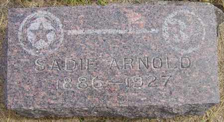 EASTCOTT ARNOLD, SADIE - Lincoln County, South Dakota | SADIE EASTCOTT ARNOLD - South Dakota Gravestone Photos
