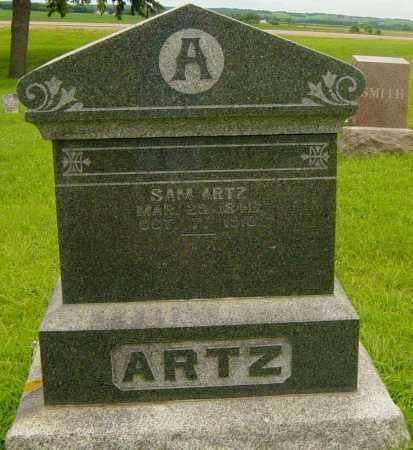 ARTZ, SAM - Lincoln County, South Dakota   SAM ARTZ - South Dakota Gravestone Photos
