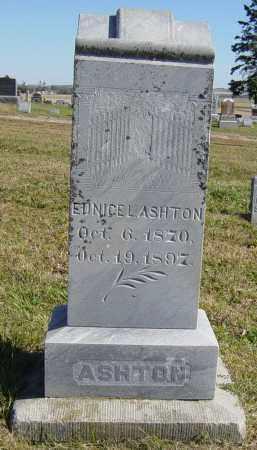 ASHTON, EUNICE L - Lincoln County, South Dakota   EUNICE L ASHTON - South Dakota Gravestone Photos