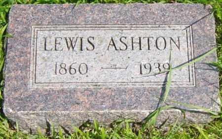 ASHTON, LEWIS - Lincoln County, South Dakota   LEWIS ASHTON - South Dakota Gravestone Photos