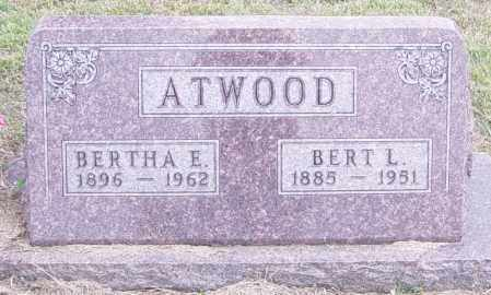ATWOOD, BERT L - Lincoln County, South Dakota | BERT L ATWOOD - South Dakota Gravestone Photos
