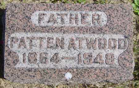 ATWOOD, PATTEN - Lincoln County, South Dakota | PATTEN ATWOOD - South Dakota Gravestone Photos