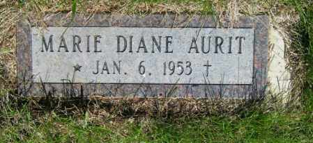 AURIT, MARIE DIANE - Lincoln County, South Dakota | MARIE DIANE AURIT - South Dakota Gravestone Photos
