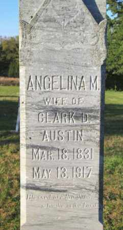 AUSTIN, ANGELINA M. - Lincoln County, South Dakota | ANGELINA M. AUSTIN - South Dakota Gravestone Photos