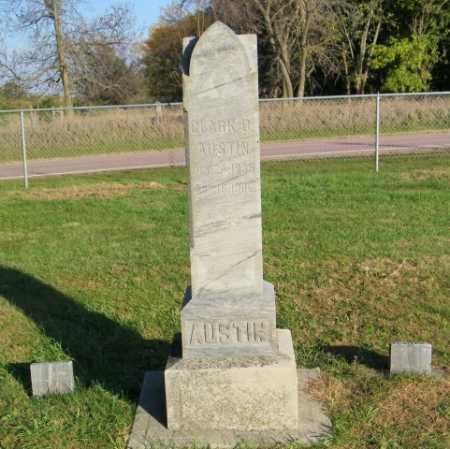 AUSTIN, CLARK D - Lincoln County, South Dakota | CLARK D AUSTIN - South Dakota Gravestone Photos