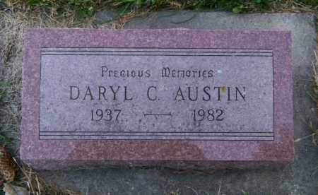 AUSTIN, DARYL C. - Lincoln County, South Dakota | DARYL C. AUSTIN - South Dakota Gravestone Photos