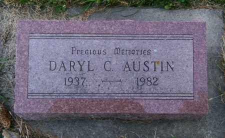 AUSTIN, DARYL C. - Lincoln County, South Dakota   DARYL C. AUSTIN - South Dakota Gravestone Photos