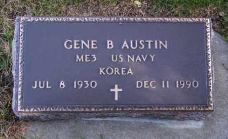 AUSTIN, GENE B. - Lincoln County, South Dakota | GENE B. AUSTIN - South Dakota Gravestone Photos