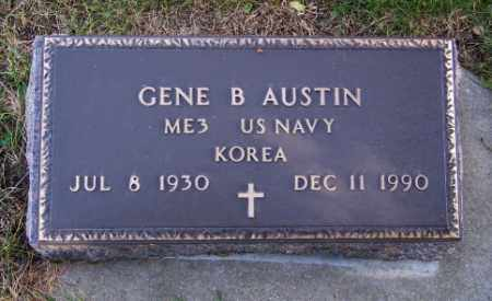 AUSTIN, GENE B. - Lincoln County, South Dakota | GENE B. AUSTIN - South Dakota Gravestone Photos