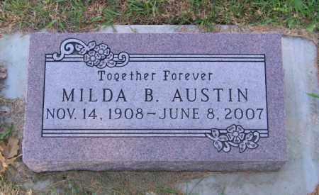 AUSTIN, MILDA B. - Lincoln County, South Dakota | MILDA B. AUSTIN - South Dakota Gravestone Photos