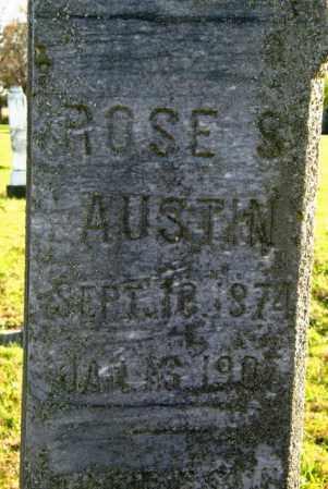 AUSTIN, ROSE S. - Lincoln County, South Dakota   ROSE S. AUSTIN - South Dakota Gravestone Photos