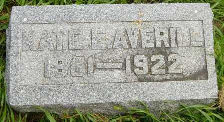 AVERILL, KATE E - Lincoln County, South Dakota   KATE E AVERILL - South Dakota Gravestone Photos