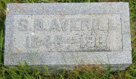 AVERILL, S B - Lincoln County, South Dakota | S B AVERILL - South Dakota Gravestone Photos