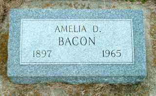 BACON, AMELIA DARLENE - Lincoln County, South Dakota | AMELIA DARLENE BACON - South Dakota Gravestone Photos