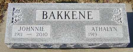 BAKKENE, ATHALYN - Lincoln County, South Dakota   ATHALYN BAKKENE - South Dakota Gravestone Photos