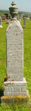 BALDWIN, JOSEPH - Lincoln County, South Dakota | JOSEPH BALDWIN - South Dakota Gravestone Photos