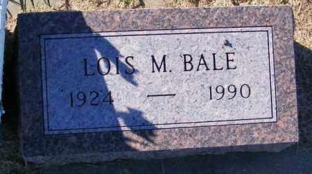 BALE, LOIS M - Lincoln County, South Dakota   LOIS M BALE - South Dakota Gravestone Photos