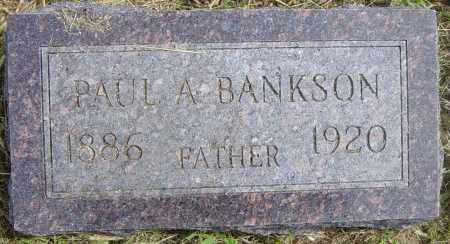 BANKSON, PAUL A - Lincoln County, South Dakota | PAUL A BANKSON - South Dakota Gravestone Photos