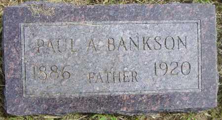 BANKSON, PAUL A - Lincoln County, South Dakota | PAUL A BANKSON - South Dakota Gravestone Photos
