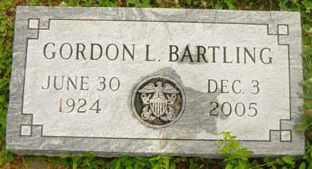 BARTLING, GORDON L - Lincoln County, South Dakota | GORDON L BARTLING - South Dakota Gravestone Photos