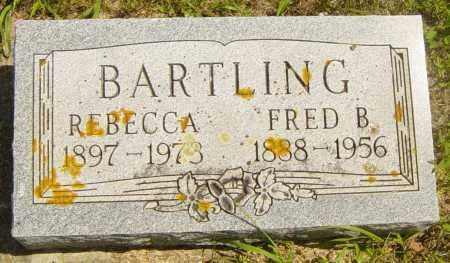 BARTLING, FRED B - Lincoln County, South Dakota | FRED B BARTLING - South Dakota Gravestone Photos