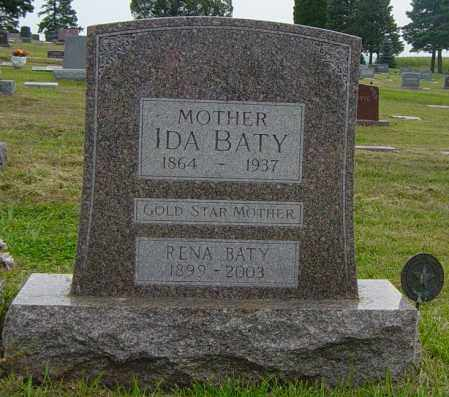 BATY, IDA - Lincoln County, South Dakota | IDA BATY - South Dakota Gravestone Photos