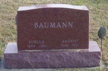 BAUMANN, LUELLA - Lincoln County, South Dakota   LUELLA BAUMANN - South Dakota Gravestone Photos