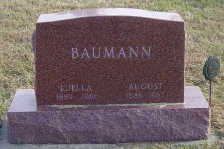 BAUMANN, LUELLA - Lincoln County, South Dakota | LUELLA BAUMANN - South Dakota Gravestone Photos