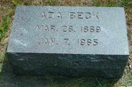 HELDER BECK, ADA - Lincoln County, South Dakota | ADA HELDER BECK - South Dakota Gravestone Photos